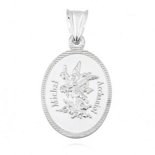 Medalik srebrny Michał Archanioł
