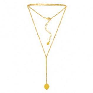 Biżuteria srebrna z żółtym bursztynem - srebro pozłacane