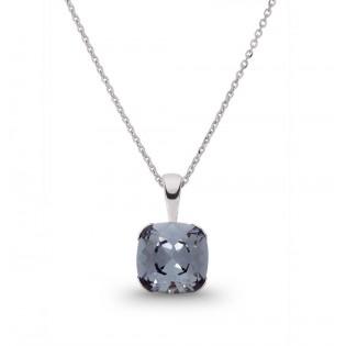 Naszyjnik srebrny Swarovski Modna biżuteria Swarovski
