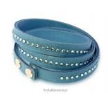 Swarovski Schmuck - Armband mit blauen Swarovski Kristallen