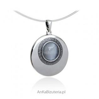 Biżuteria srebrna - Wisiorek srebrny
