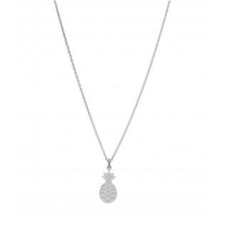 Naszyjnik srebrny włoski - ANANAS - Biżuteria srebrna Dall Acqua