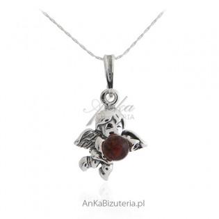Biżuteria srebrna - ANIOŁEK - biżuteria na prezent dla dziewczynki