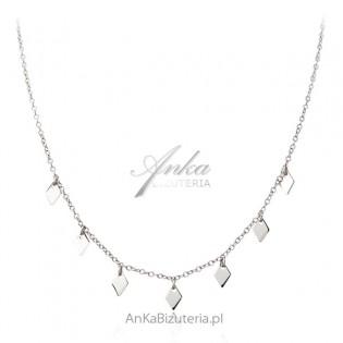 Naszyjnik srebrny - subtelna biżuteria srebrna