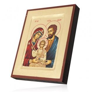 IKONA Św. Rodzina 18*14 cm - Ikona bizantyjska