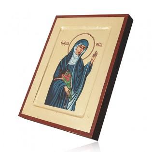 ikona św. RITY - patronki spraw trudnych i beznadziejnych
