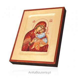 Ikona Matka Boża Całująca - ikona grecka