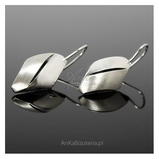 PROMOCJA 30% kolczyki srebrne na biglach