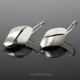 Niedliche und zarte Ohrringe an Ohrhaken - Silber