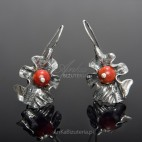 Earrings CORAL AUTUMN