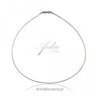 Łańcuszek włoski srebrny linka okrągła -Wyjątkowo pięknie się układa